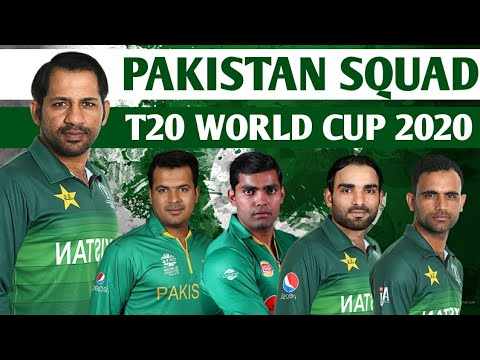 T20 World Cup 2020 Pakistan Squad