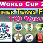 T20 World Cup 2020 Qualified Team List